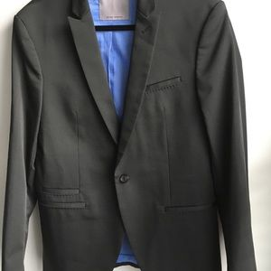 Zara Man black blazer size 40